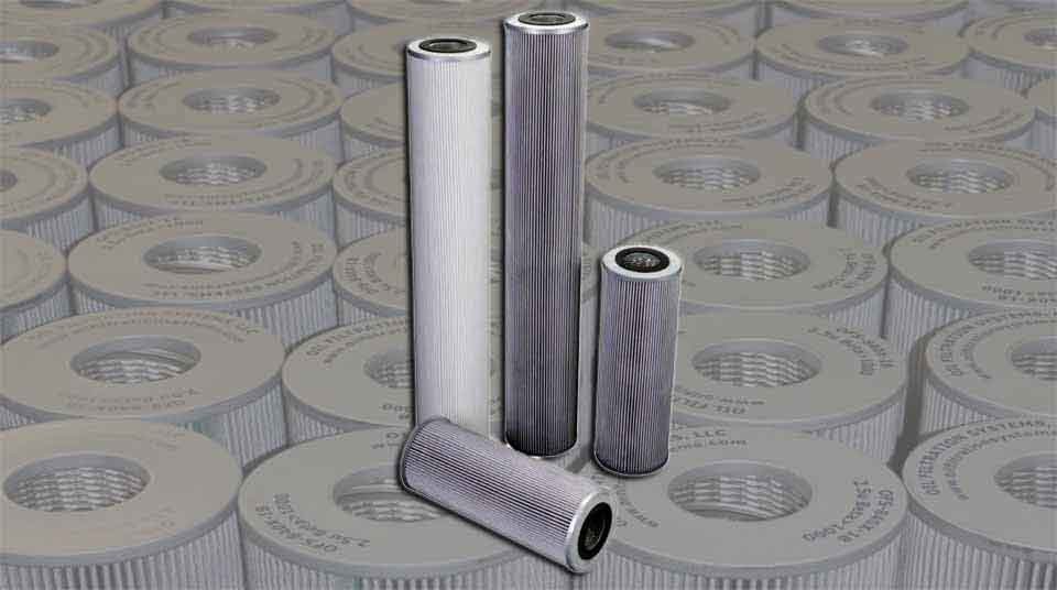 High Efficiency Oil Filter Elements