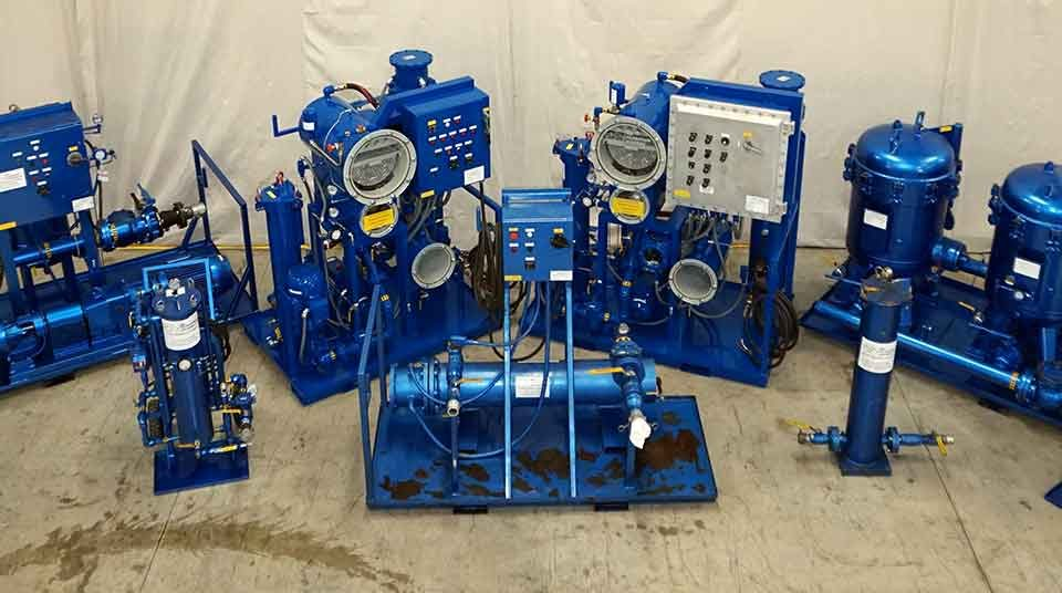 Oil Purifying Equipment Rental